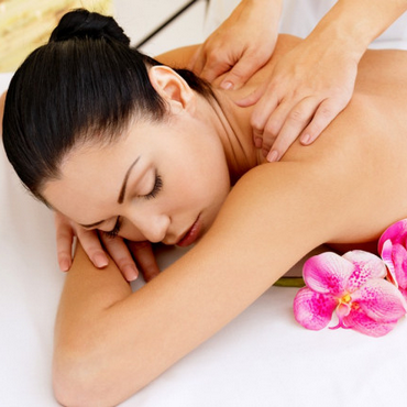 Oasis Back and Shoulder Massage